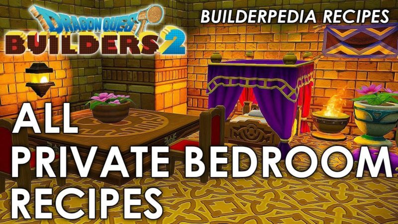 Dragon Quest Builders 2 Recipes online