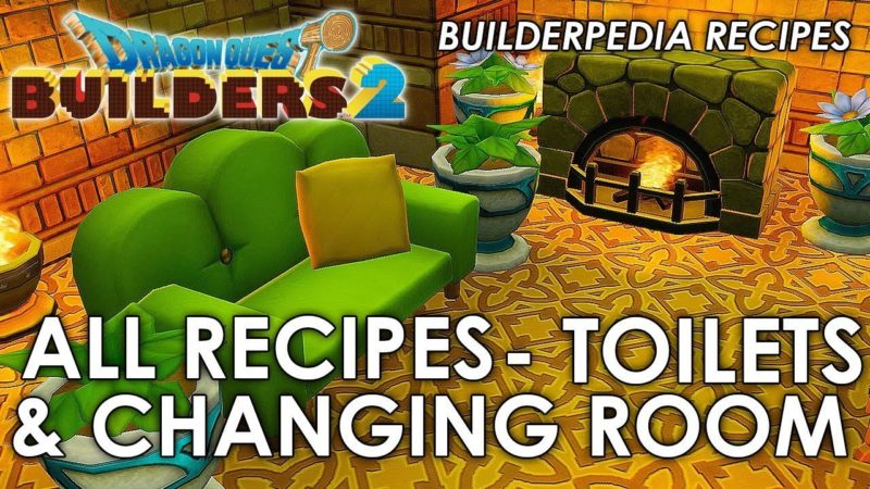 Dragon Quest Builders 2 Recipes room
