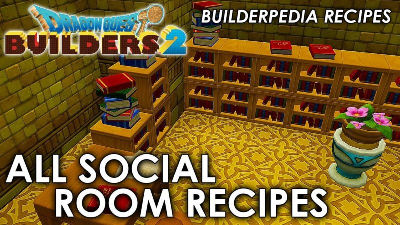 Dragon Quest Builders 2 Recipes