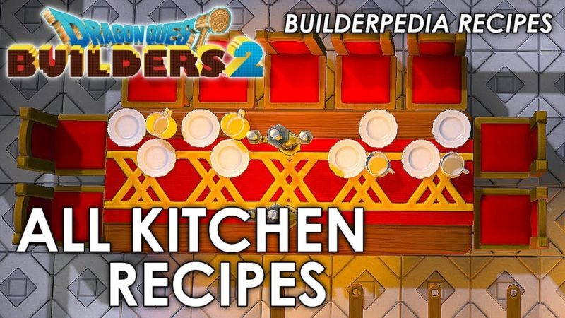 Dragon Quest Builders 2 kitchen
