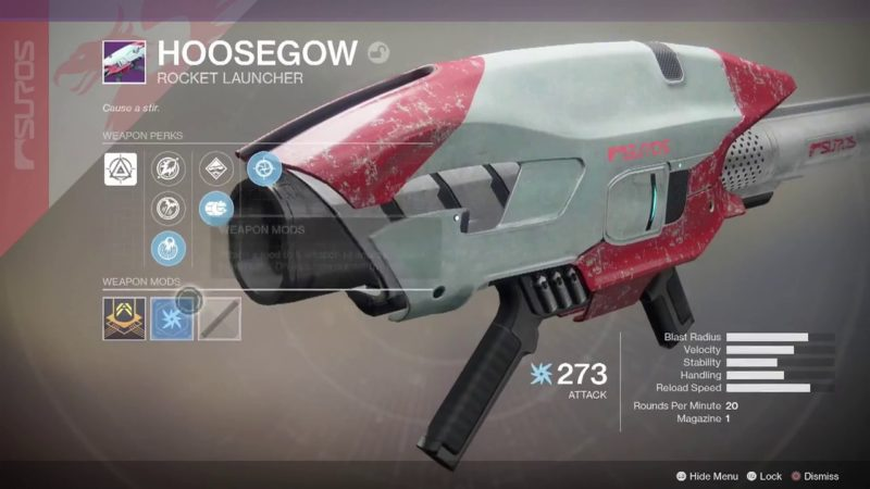 hoosegow- Best Black Armory Weapons