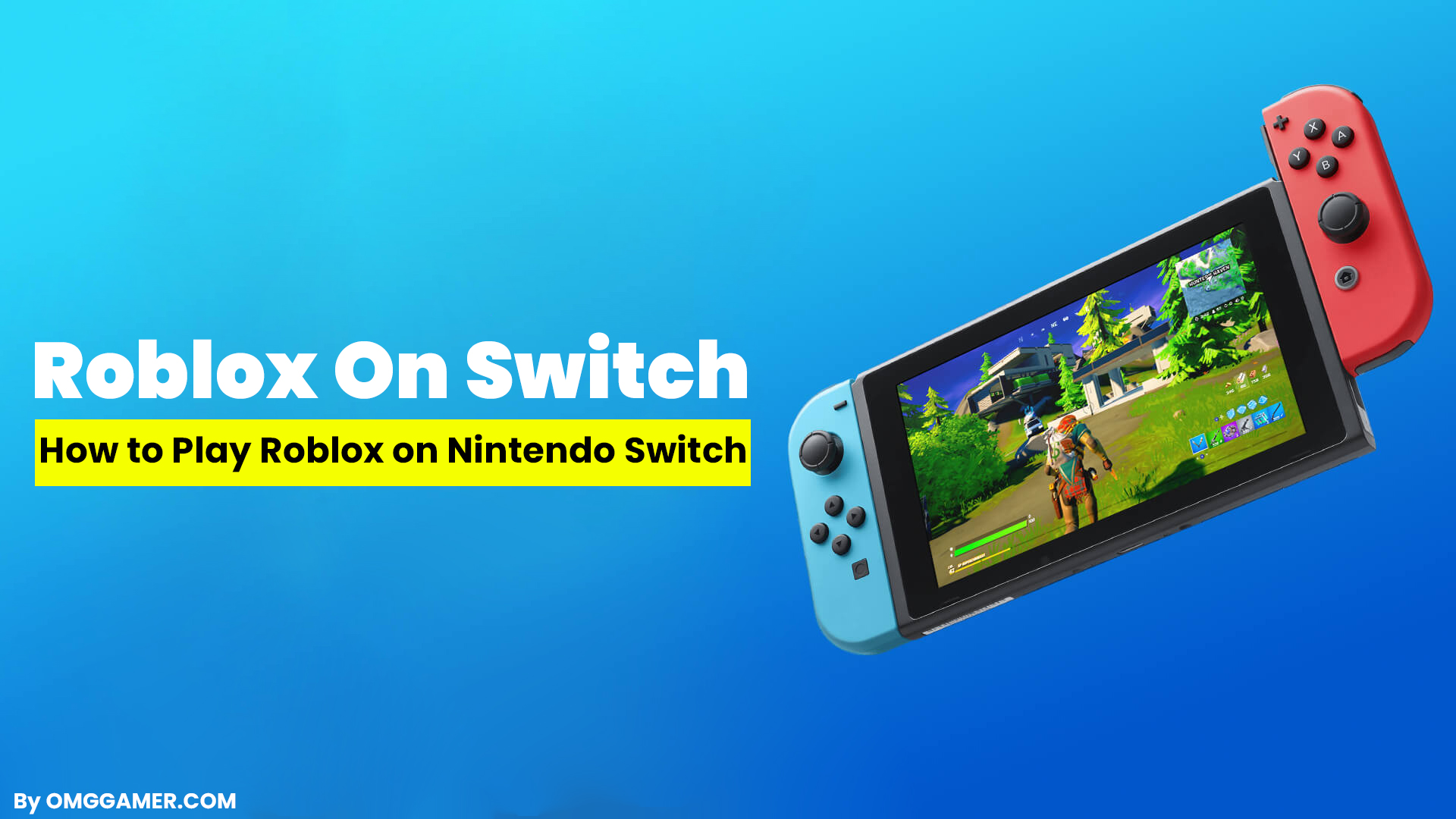 how to play roblox on switch