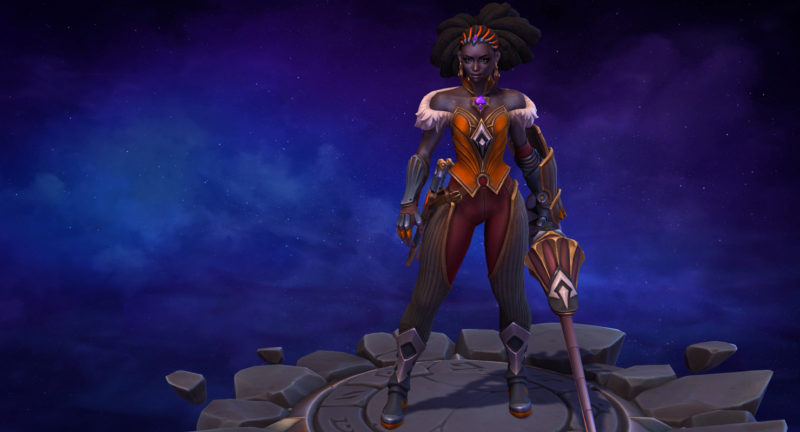 Heroes of The Storm Qhira