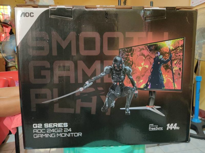 AOC 24G2 Gaming Monitor 144Hz Review