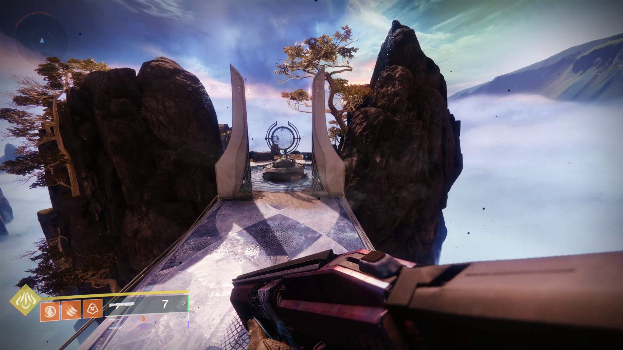 Spine of Keres in the Dreaming City