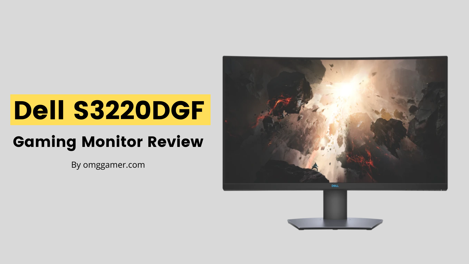Dell S3220DGF gaming monitor review