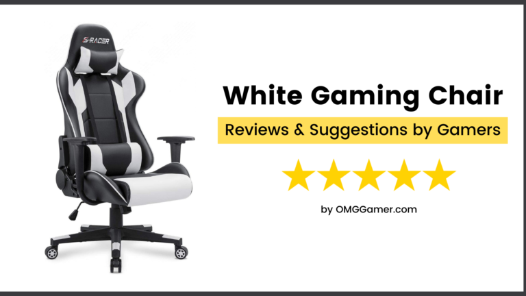 Best White Gaming Chair Reviews